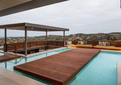 Corkwood Close - Simbithi Eco Estate Deck and Pool Area