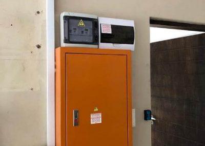 Solar Power installation DB Board