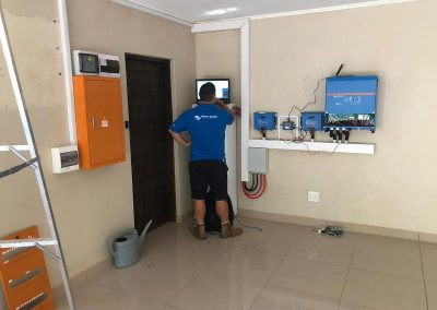 Solar system integration into home electrical